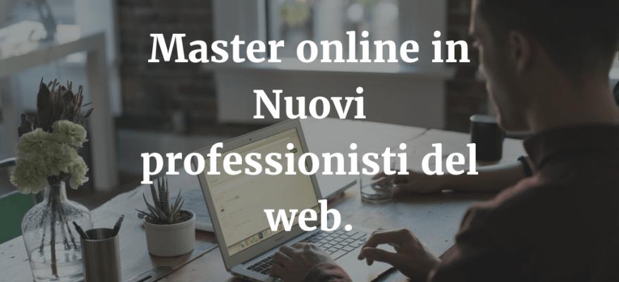 Master online in Nuovi professionisti del Web a Pescara.
